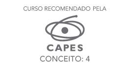 Banner lateral - Curso recomendado pela CAPES - Conceito 4