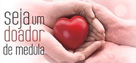 Doação de Medula - Banner de apoio