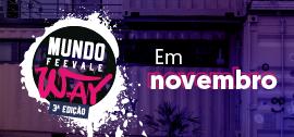 Banner de apoio - Mundo Feevale Way Novembro 2021