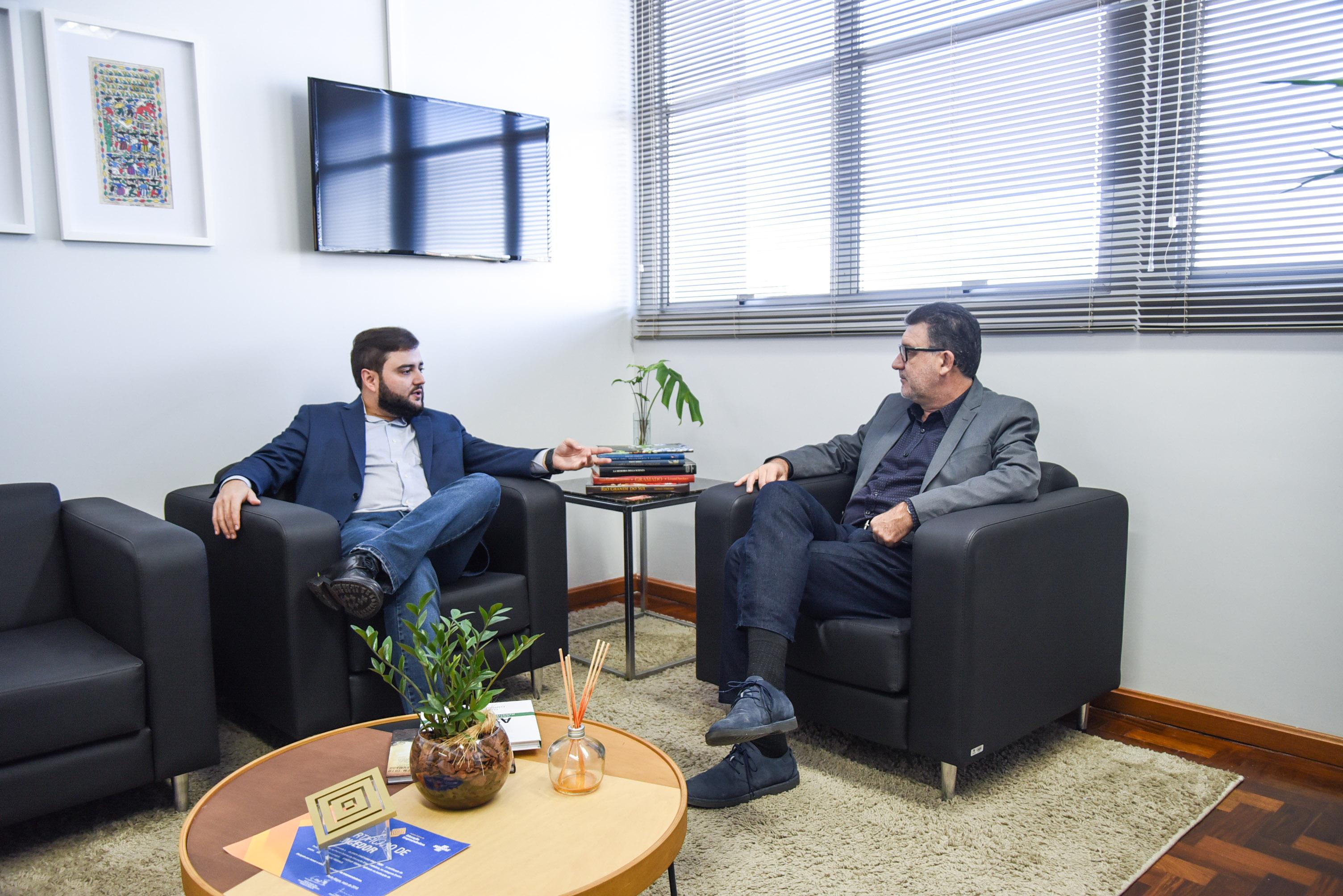 Grabriel Souza e Cleber Prodanov