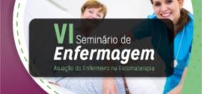 banner central - VI Seminário de Enfermagem