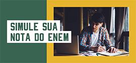 Banner de apoio home - Simule sua nota no ENEM