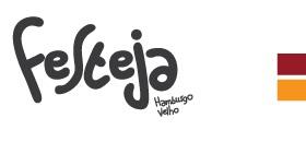 Banner de apoio - Logo Festeja