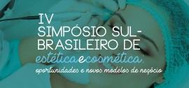Banner Home - IV Simpósio Sul Brasileiro de Estética e Cosmética