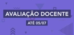 Banner central - Avaliação Docente 2017.01