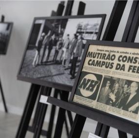 Exposição Fotografia e Memória: 50 anos de Aspeur/Feevale