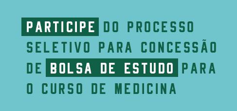 Banner central - bolsas de estudo medicina