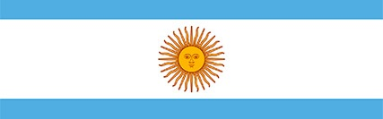 Banner central - Bandeira da Argentina