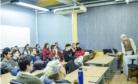 Simini palestra para os estudantes de Medicina