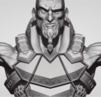 Imagem Referência do curso Introdução ao ZBrush para Games — 2ª Edição