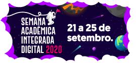 Banner de apoio - Semana Acadêmica Integrada Digital 2020