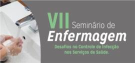 Banner central - VII Seminário de Enfermagem
