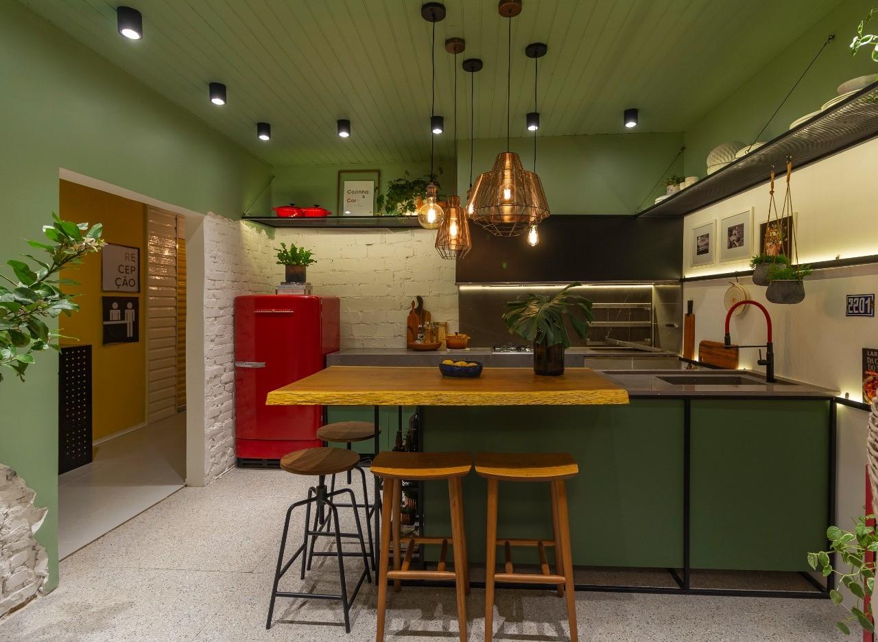 Projeto Cozinha&Sabor&Cor&Amor da Casa Urbana