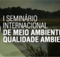 banner central -  I Seminário Internacional de Meio Ambiente e Qualidade Ambiental