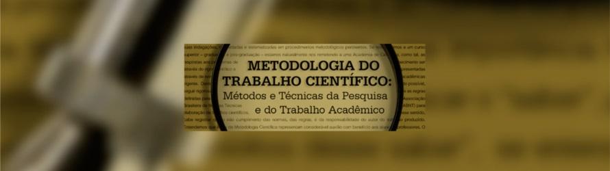 Imagem de referência E-book Metodologia do Trabalho Cientifico