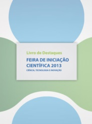 Imagem de referência E-book Livro de Destaques - Feira de Iniciação Científica 2013