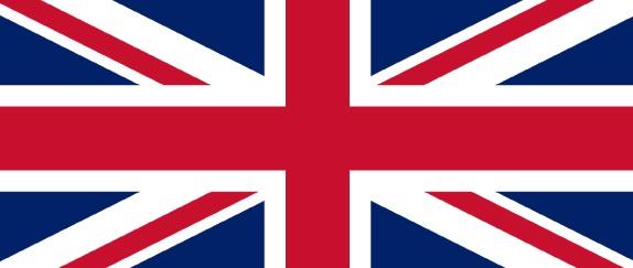 Imagem central - Bandeira da Inglaterra