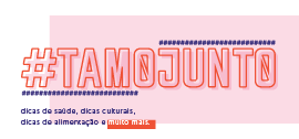 Banner de apoio - #tamojunto