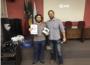 Eduardo Gomes da Silva com Guilherme Theisen Schneider