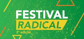Banner de apoio home - Festival Radical - 2ª edição