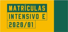 Banner de apoio home - Matrículas 2020/01