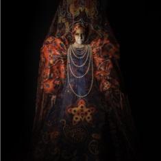 Roupa da coleção Vassilissa, da acadêmica Luciana Benetti