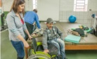 Almofadas para cadeiras de rodas foram um dos objetos de estudo