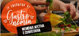 Banner de apoio home - IV Encontro de Gastronomia