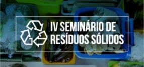 banner central -  IV Seminário de Resíduos Sólidos
