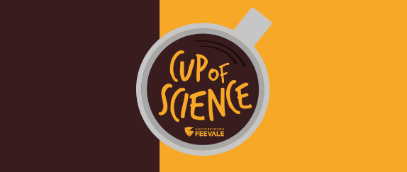 Imagem central  - Podcast Cup of Cience
