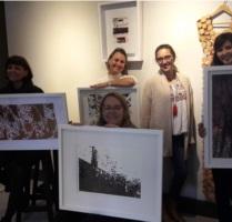 Artistas na exposição