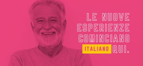 Imagem Central - Idiomas Italiano 2021