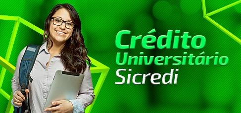 Imagem central - Credito Universitário Sicredi