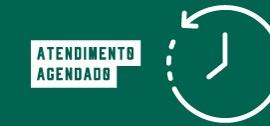 Banner de apoio - Atendimento agendado