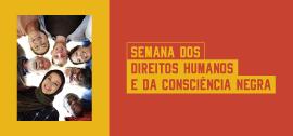 Banner de apoio home - III Semana dos Direitos Humanos e da Consciência Negra