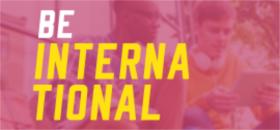 Banner de apoio - Be International