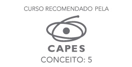 Banner lateral - Curso recomendado pela CAPES - Conceito 5