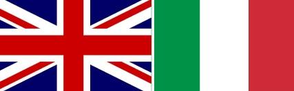 Imagem central - Londres e Itália