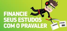 banner central - Financie seus estudos com o PRAVALER