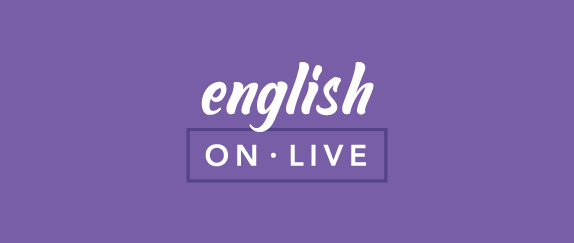 Imagem central - English
