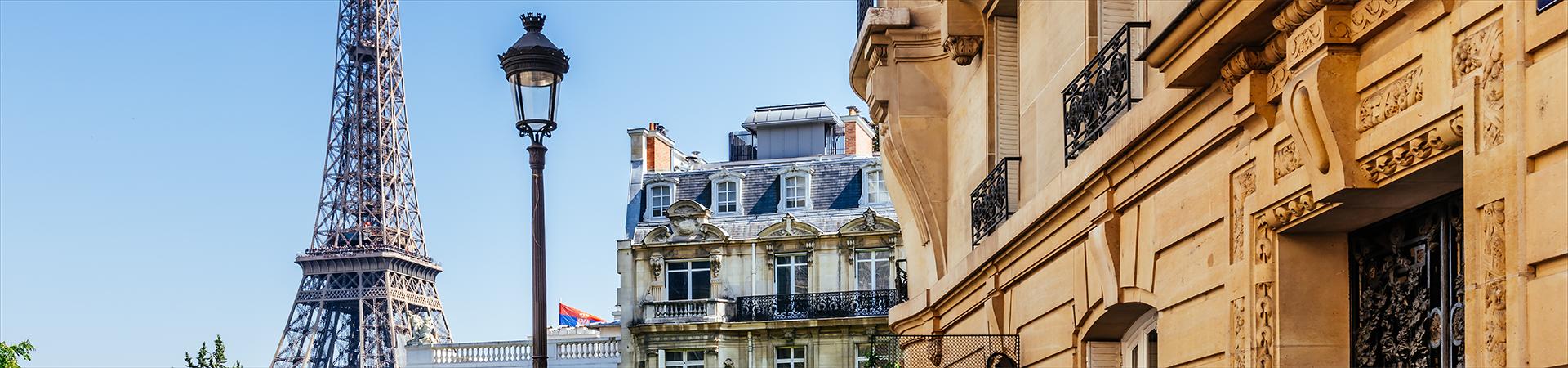 Banner de topo - Séjour à Paris - 1ª edição