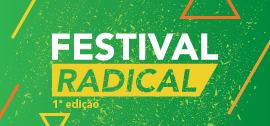 Banner central - Festival Radical