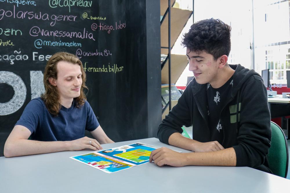 Hugo Lars Wagener e Otávio Vieira Santos