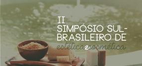 banner central - II Simpósio Sul Brasileiro de Estética e Cosmética terapias spazianas