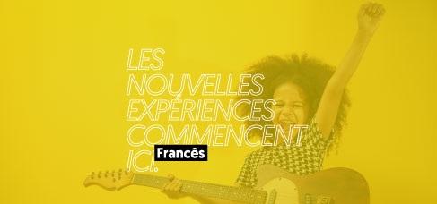 Banner central - Centro de Idiomas Francês