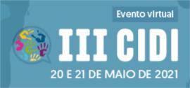 Banner de apoio - III CIDI