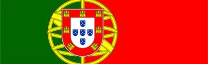 Banner central - bandeira de Portugal