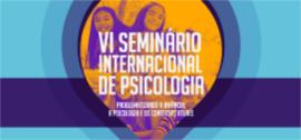 Banner VI Seminário Internacional de Psicologia
