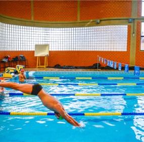 Atleta durante treinamento