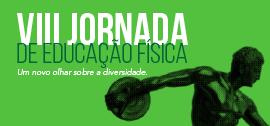 Banner de apoio home - VIII Jornada de Educação Física